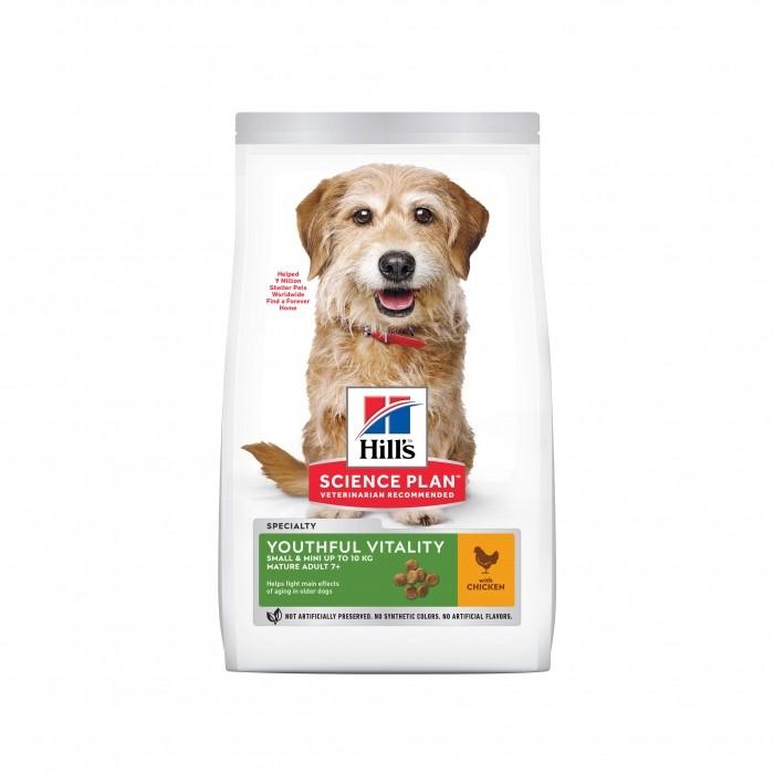 Alimentation pour chien - Hill's Science plan Senior Vitality Mature Small & Mini Adult 7+ pour chiens
