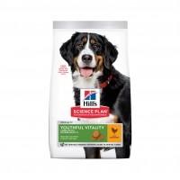 Croquettes pour grand chien de plus de 7 ans - HILL'S Science plan Youthful Vitality Large Mature Adult 7+