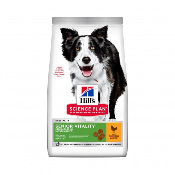 Boutique senior - Hill's Science plan Senior Vitality Mature Adult Medium 7+ pour chiens