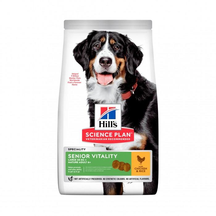 Boutique senior - Hill's Science plan Senior Vitality Mature Large Adult 7+ pour chiens