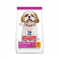 Croquettes pour petit chien de plus de 7 ans - Hill's Science Plan Mature Small & Mini Adult 7+ Mature Adult 7+ Small & Mini
