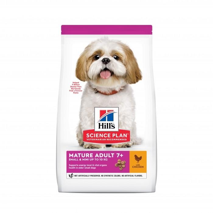 Alimentation pour chien - Hill's Science Plan Mature Small & Mini Adult 7+ pour chiens