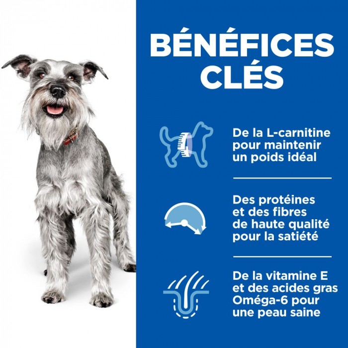 Alimentation pour chien - Hill's Science Plan Light Mature Small & Mini Adult 7+ pour chiens
