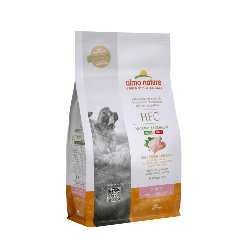 Alimentation pour chien - Almo Nature HFC Puppy Extra Small & Small pour chiens