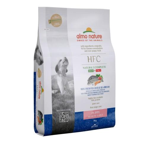Alimentation pour chien - Almo Nature HFC Puppy Medium Large pour chiens