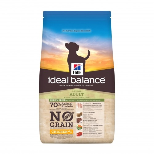 Croquettes pour chien - HILL'S Ideal Balance No Grain Adult Medium Breed