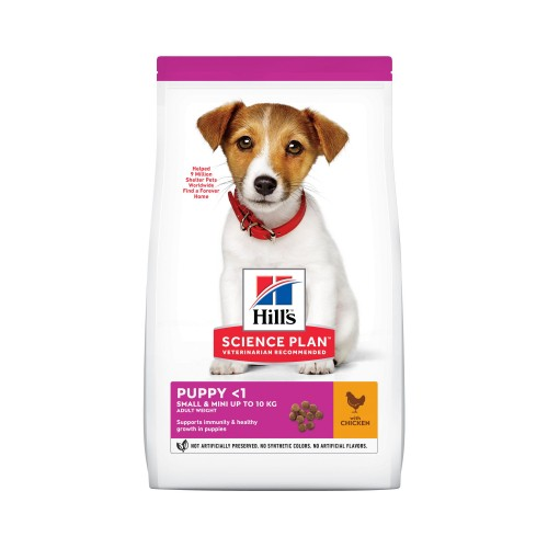 Alimentation pour chien - Hill's Science plan Puppy Small & Mini pour chiens