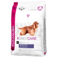 Croquettes pour chien - EUKANUBA Daily Care Adult Hypersensibilité cutanée