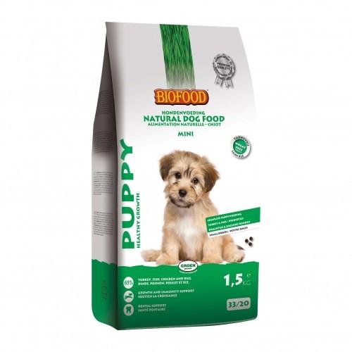 Alimentation pour chien - BIOFOOD Puppy Mini sans blé pour chiens