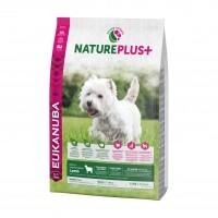 Croquettes pour chien - EUKANUBA Nature Plus Adulte Petites Races - Agneau