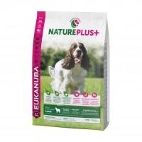 Croquettes pour chien - EUKANUBA Nature Plus Adulte Races Moyennes - Agneau