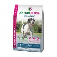 Croquettes pour chien - Eukanuba Nature Plus Grain Free Adult Adulte Sans Céréales - Saumon