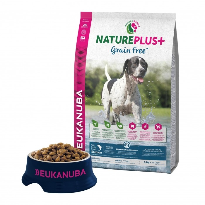 Alimentation pour chien - Eukanuba Nature Plus Grain Free Adult pour chiens