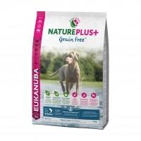Croquettes pour chiot - Eukanuba Nature Plus Grain Free Puppy & Junior Chiot & Junior Sans Céréales - Saumon