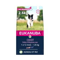 Croquettes pour chien - Eukanuba Puppy Small & Medium Breed - Agneau et riz