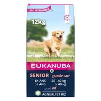 Croquettes pour chien - Eukanuba Senior Large Breed - Agneau et riz