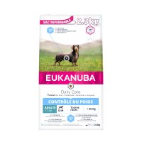 Croquettes pour chien - Eukanuba Daily Care Weight Control Small & Medium Breed