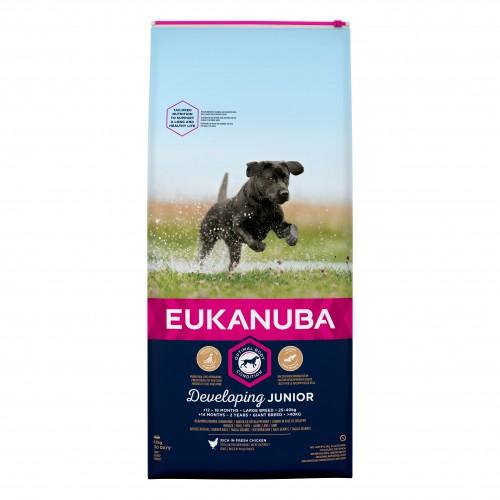 Alimentation pour chien - Eukanuba Junior Large & Giant Breed pour chiens