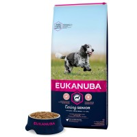 Croquettes pour chien - Eukanuba Senior Medium Breed - Poulet