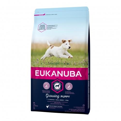 Alimentation pour chien - Eukanuba Growing Puppy Small Breed - Poulet pour chiens