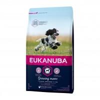 Croquettes pour chien - Eukanuba Growing Puppy Medium Breed - Poulet