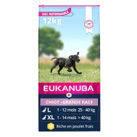 Croquettes pour chien - Eukanuba Growing Puppy Large Giant Breed Growing Puppy Large Breed - Poulet
