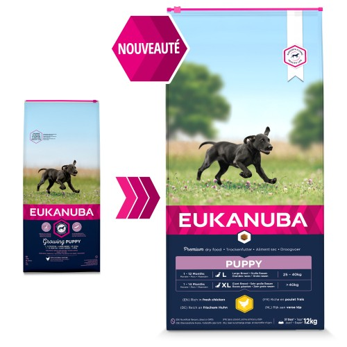 Alimentation pour chien - Eukanuba Growing Puppy Large Giant Breed pour chiens