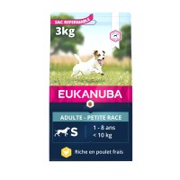 Croquettes pour chien - Eukanuba Active Adult Small Breed Active Adult Small Breed - Poulet