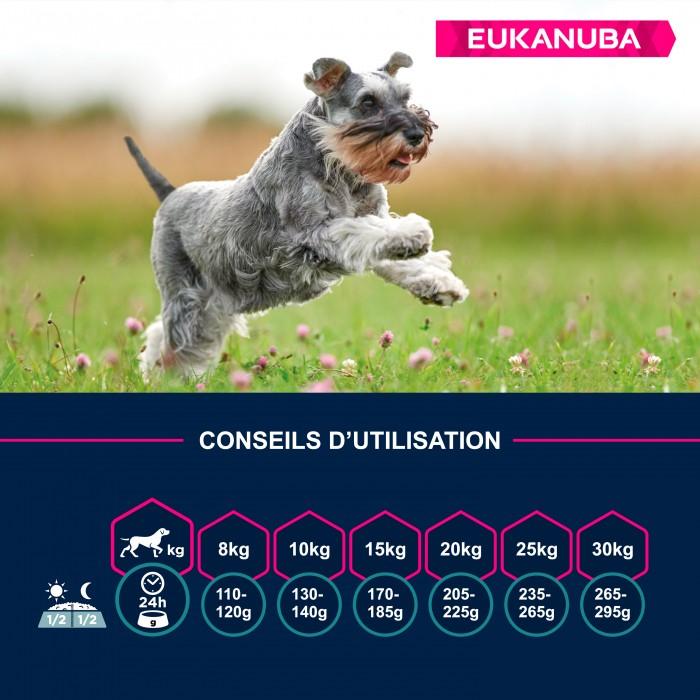 Alimentation pour chien - Eukanuba Active Adult Small Breed - Poulet pour chiens