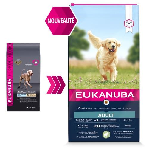 Alimentation pour chien - Eukanuba Adult Large Breed pour chiens