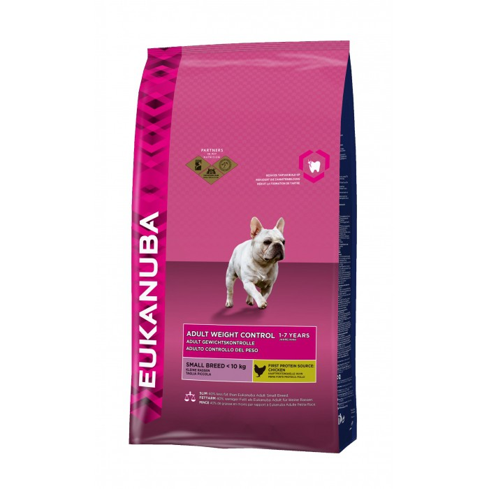 Alimentation pour chien - Eukanuba Adult Weight Control Small Breed pour chiens