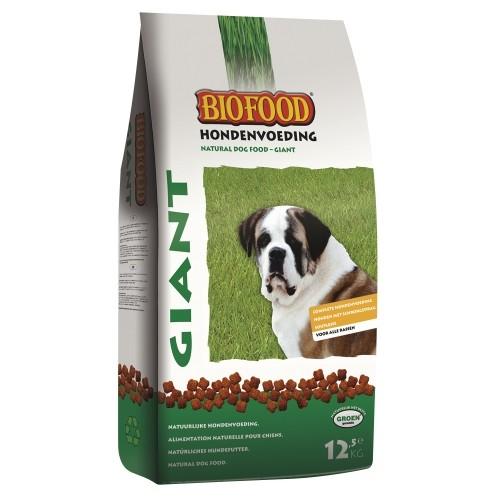 Croquettes pour chien - BIOFOOD Giant