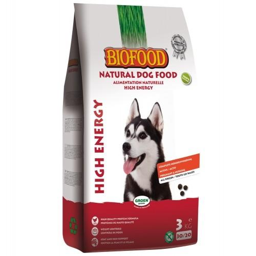 Alimentation pour chien - BIOFOOD High Energy pour chiens