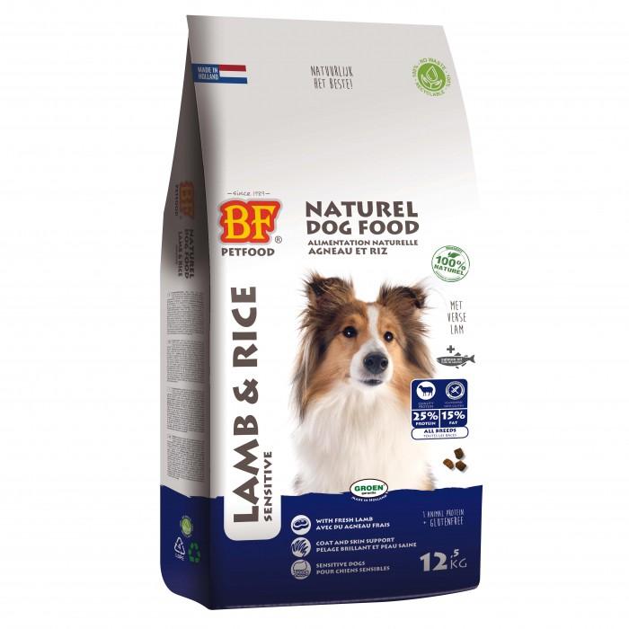 Alimentation pour chien - BIOFOOD Adulte Agneau et riz pour chiens