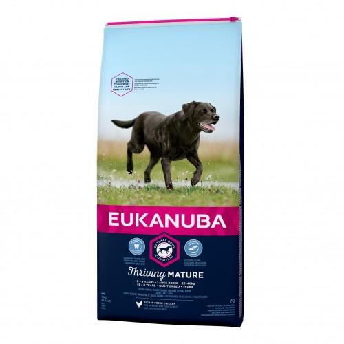 Alimentation pour chien - Eukanuba Thriving Mature Large Giant Breed - Poulet pour chiens
