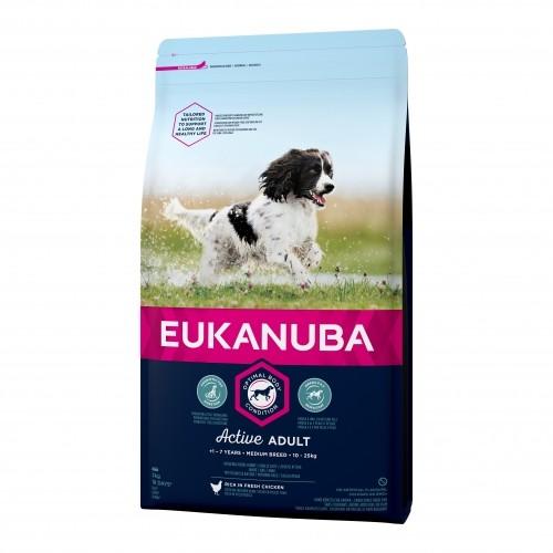 Croquettes pour chien - EUKANUBA Adult Medium Breed