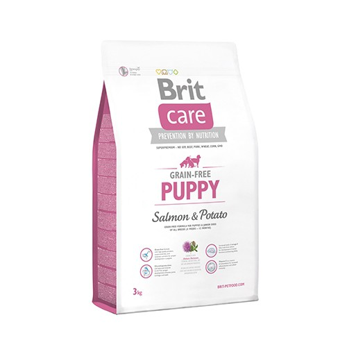 Croquettes pour chiens - BRIT-CARE Puppy Grain-Free Salmon & Potato