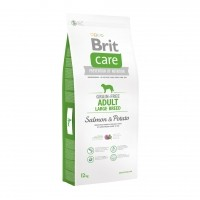 Croquettes pour chiens - BRIT-CARE Adult Large Breed Grain-Free Salmon & Potato