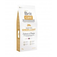 Croquettes pour chiens - BRIT-CARE Senior & Light Grain-Free Salmon & Potato