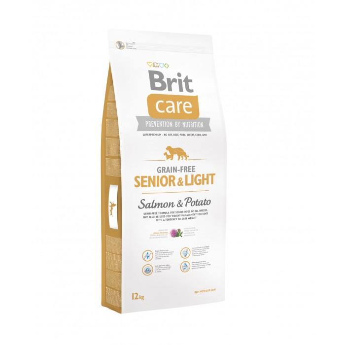 Alimentation pour chien - Brit Care Senior & Light Grain-Free pour chiens