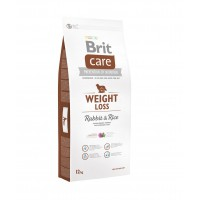 Croquettes pour chiens - BRIT-CARE Weight Loss Rabbit & Rice