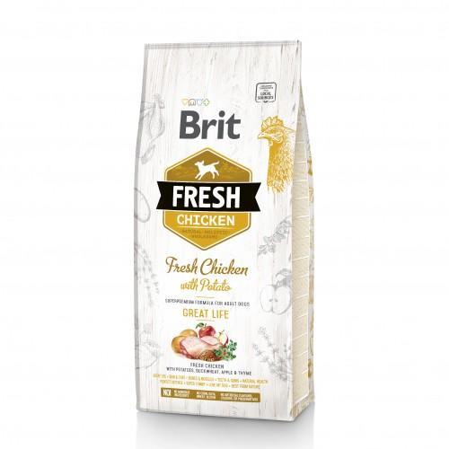 Alimentation pour chien - Brit Fresh Great Life - Adult pour chiens