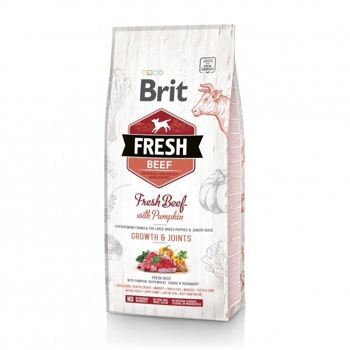 Alimentation pour chien - Brit Fresh Growth & Joints - Puppy Large pour chiens