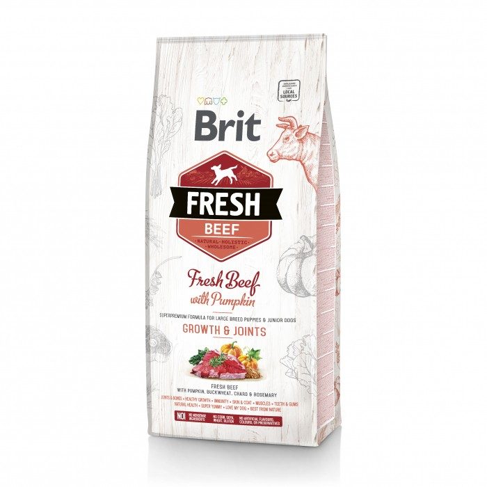 Brit Fresh Growth & Joints - Puppy Large-Growth & Joints