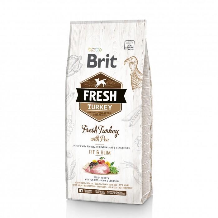 Alimentation pour chien - Brit Fresh Fit & Slim - Adult/Senior pour chiens