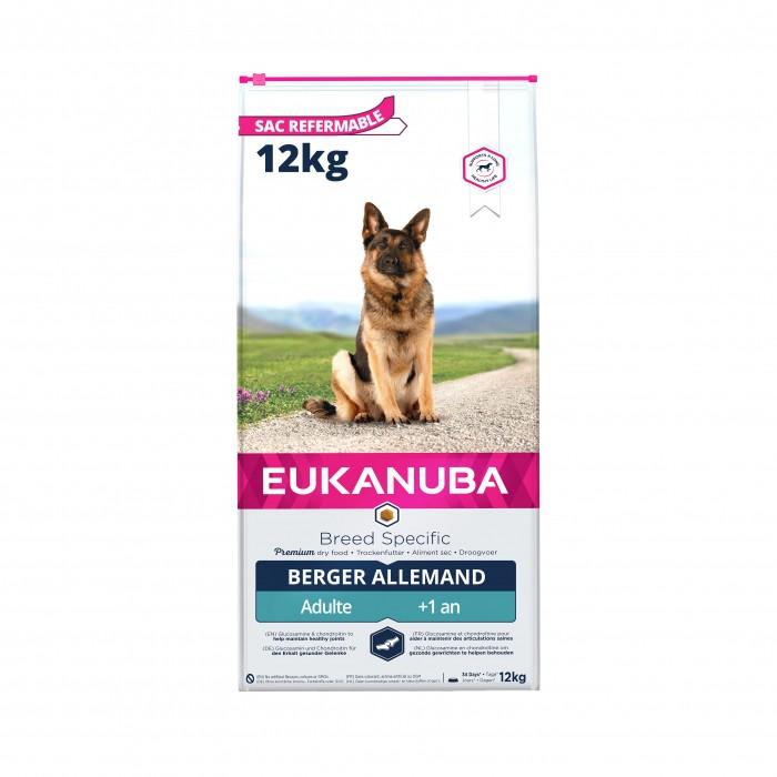 Alimentation pour chien - Eukanuba German Sheperd (Berger Allemand) pour chiens