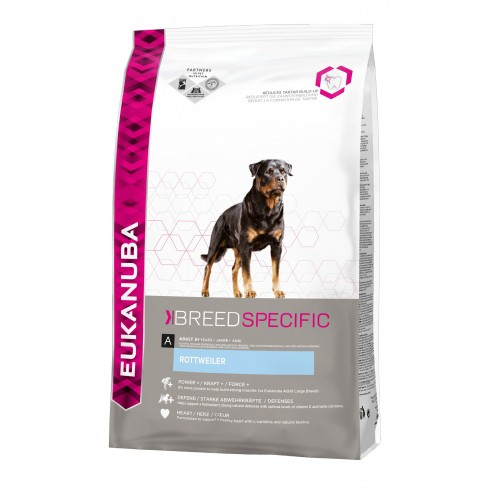 Croquettes pour chien - EUKANUBA Breed Nutrition Rottweiler