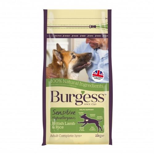 Alimentation pour chien - Burgess pour chiens