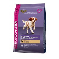 Croquettes pour chien - Eukanuba Puppy All Breed Puppy All Breeds - Agneau