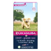 Croquettes pour chien - Eukanuba Puppy & Junior Large Breed - Agneau et riz